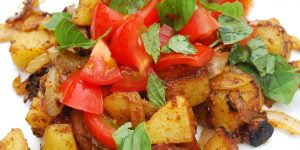Vegan German fried potatoes